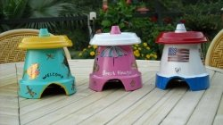 Toad Houses - Pots