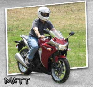 Matt Bought a Motorcycle