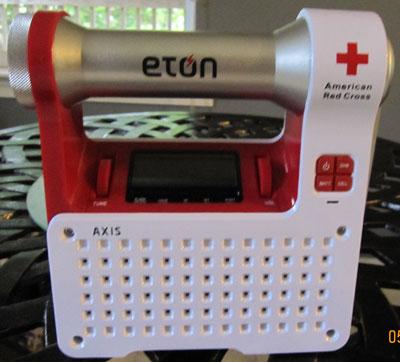 Eton American Red Cross Axis Weatherband Radio