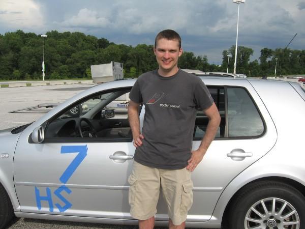 VW Golf Autocross