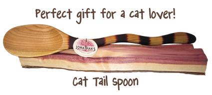 Cat Tail Spoon