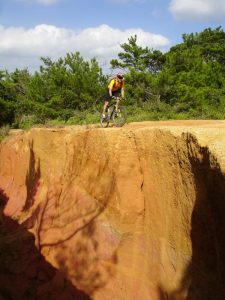 Mountain Bike Cliff