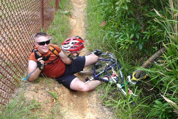 Mountain Bike Fall