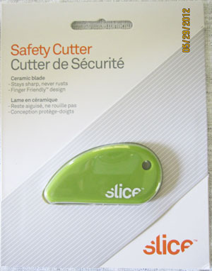 Slice Safety Cutter Review and Giveaway {Ends 7/9}