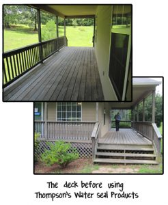 Thompson's Water Seal Deck Makeover