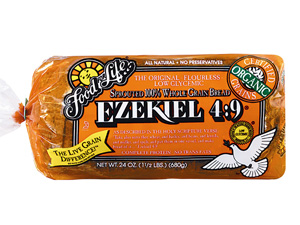 Food for Life Ezekiel Bread and Sprouted Grain Pasta