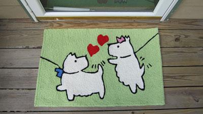 Doodle Dog Jellybean Rug