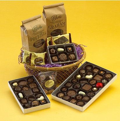 Asher's Chocolate Gift Basket
