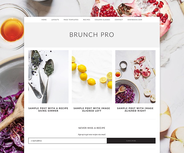 Brunch Pro Genesis Child Theme