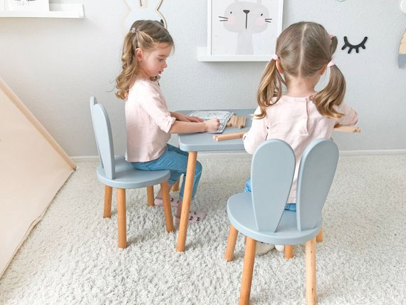 Bunny Table and Chairs