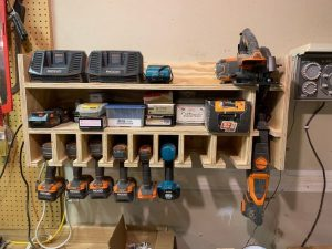 Power Tool Organizer