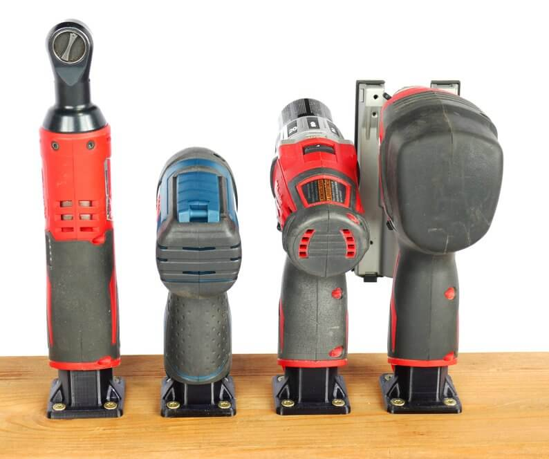 Cordless Tool Storage Supports