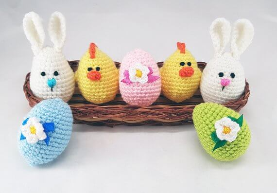 Crochet Easter Basket Stuffers