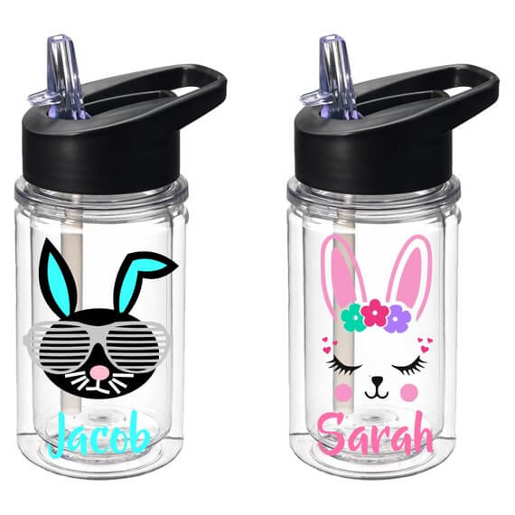 Personalized Easter Bunny Tumbler