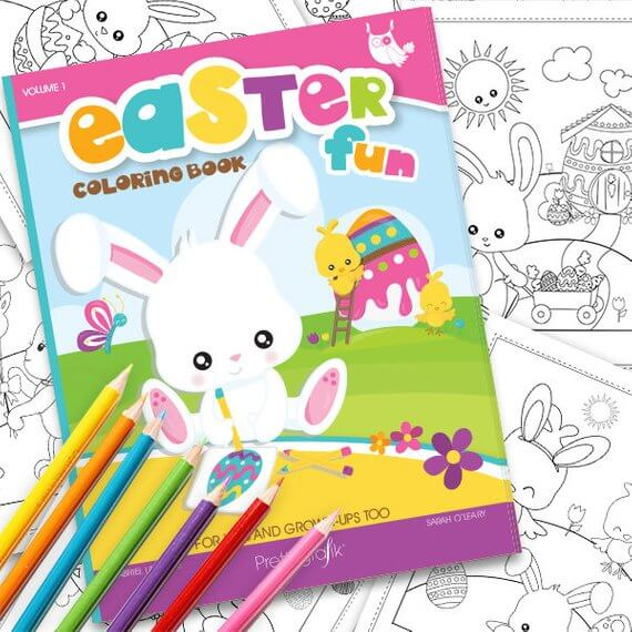 Downloadable Easter Coloring Book