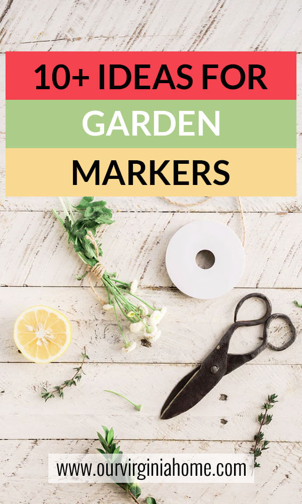 Beautiful Ideas for Garden Markers | Herb Markers | Garden Gifts | DIY Garden Markers