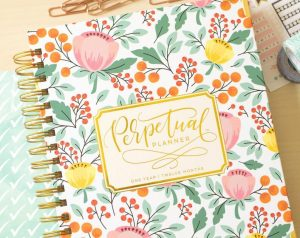 Perpetual Planner Calligraphy