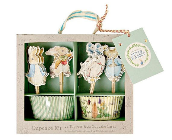 Peter Rabbit Cupcake Kit Easter Celebration
