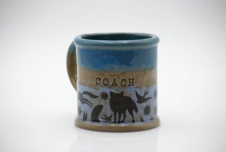 Ceramic coffee mug