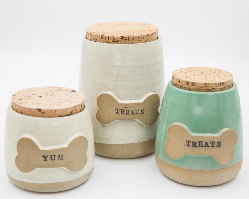 Dog treat pottery