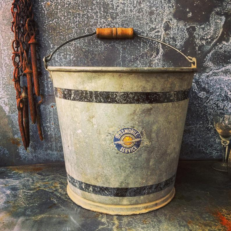 Oldsmobile Galvanized Bucket