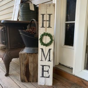 Rustic Welcome Sign for Home