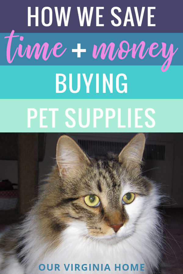 How We Save Time and Money Buying PEt Supplies