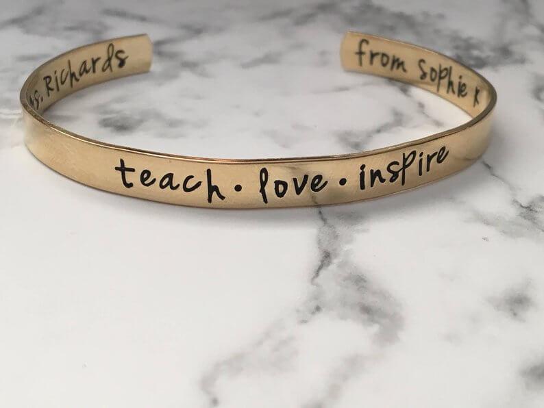 Teach Love Inspire Bracelet
