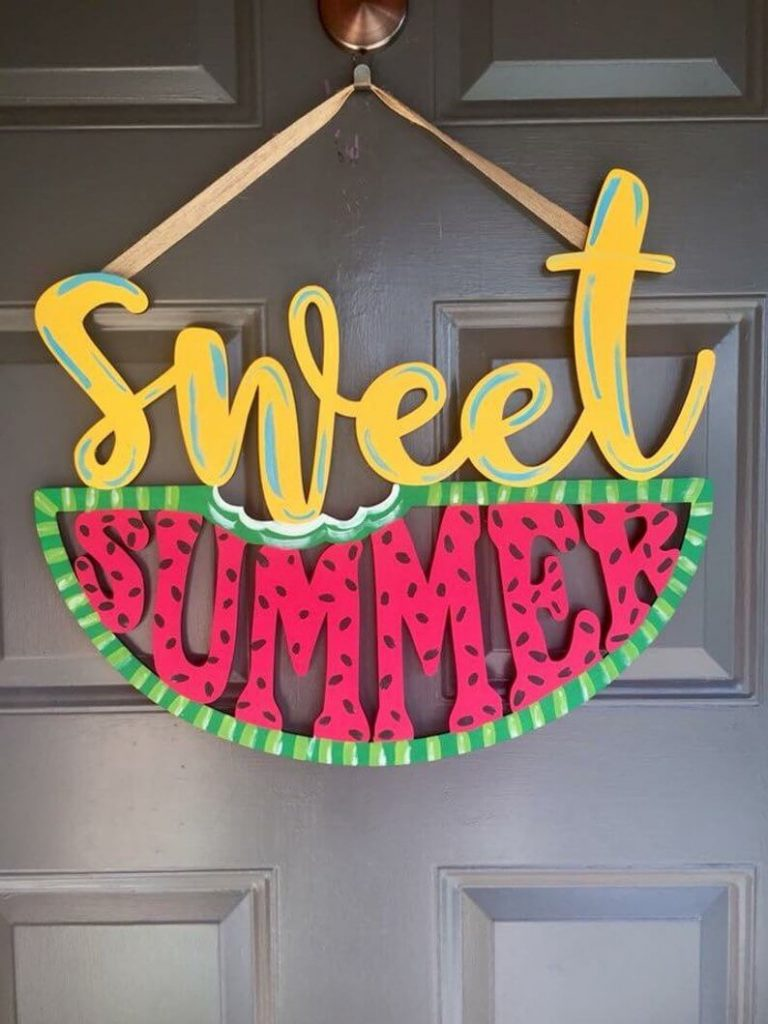Sweet Summer Door Hanger