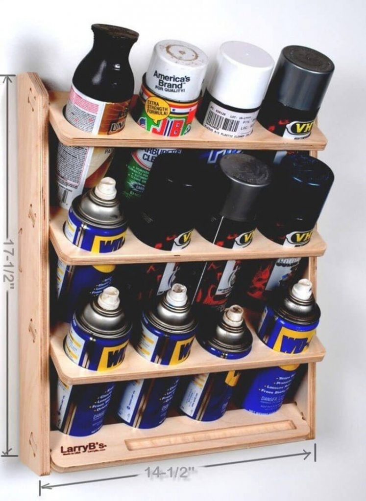 Aerosol Spray Can Holder