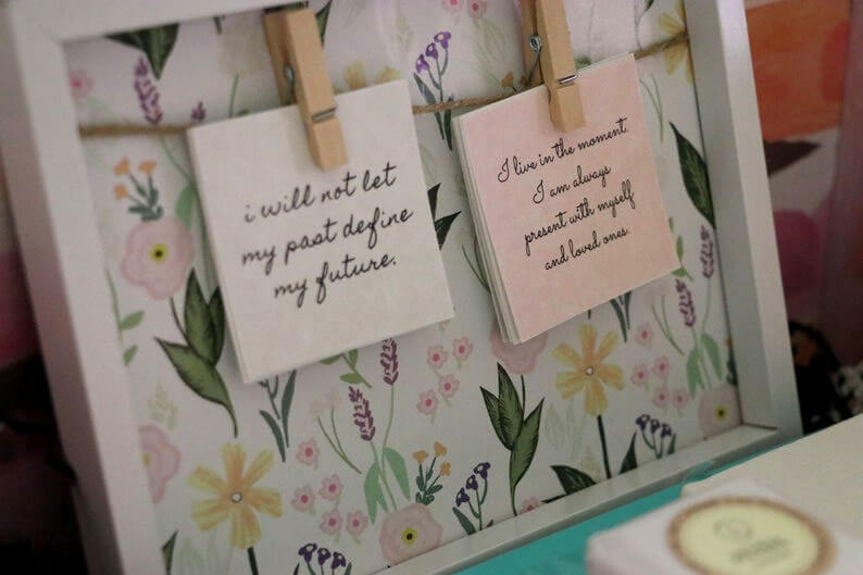 Affirmations Wall Decor