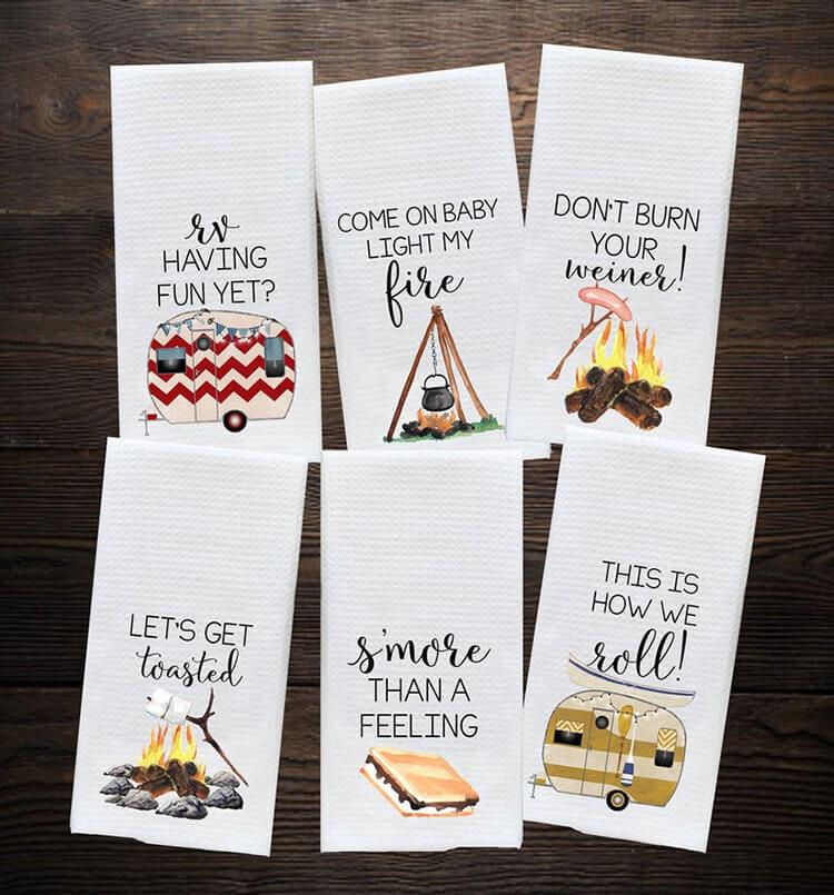Camper Kitchen Towel Gifts