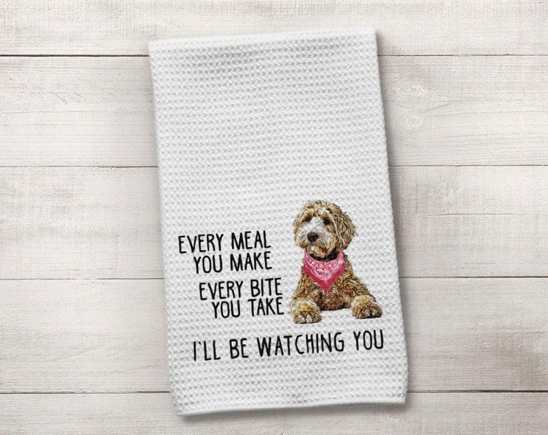 Funny Dog Kitchen Towel