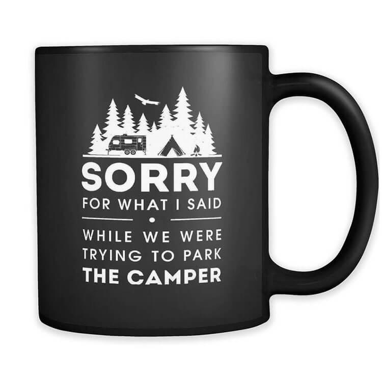 Funny Camper Mug
