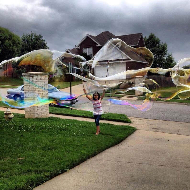 Giant Bubble Wand for Kids
