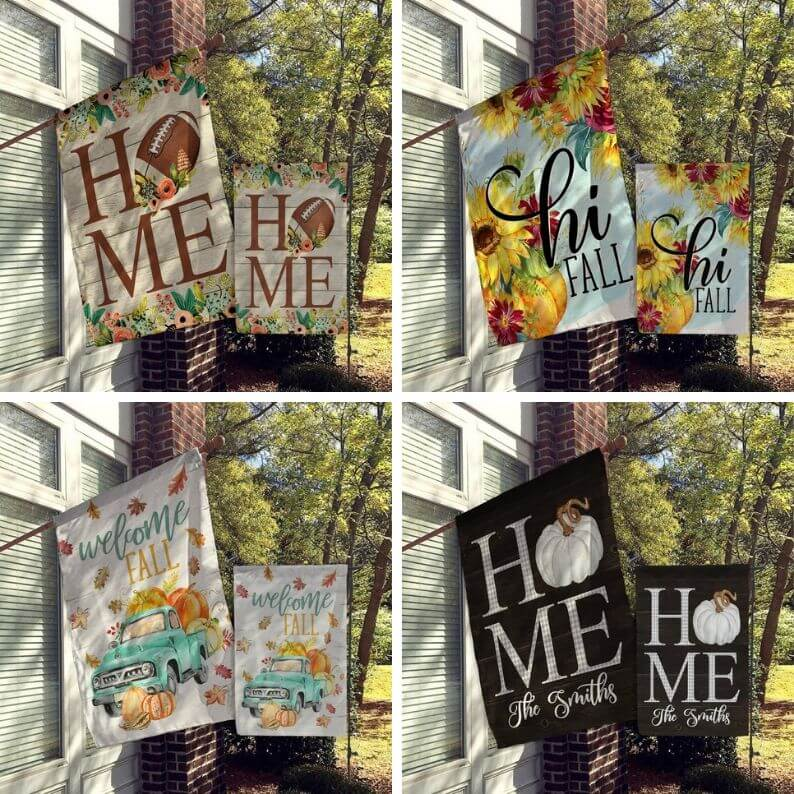 Fall Flags for Home