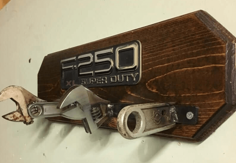 F250 Super Duty Coat Rack
