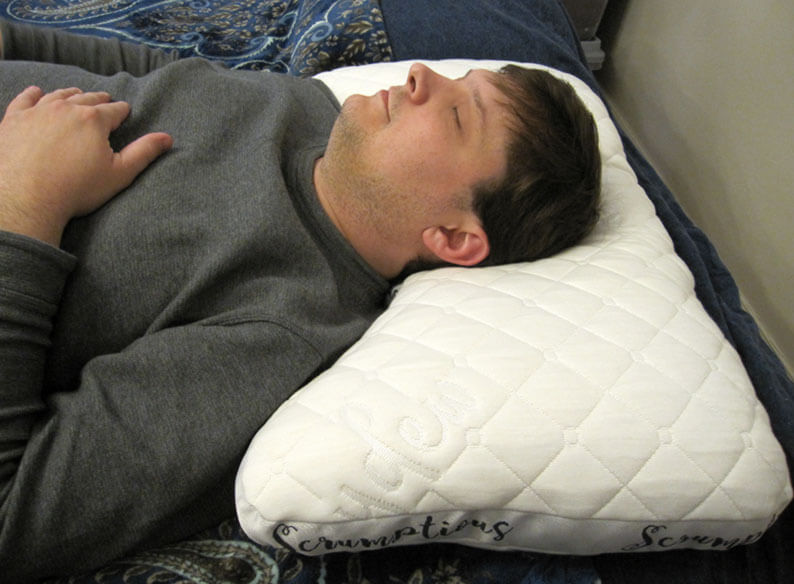 Scrumptious Side-Sleeper Pillow