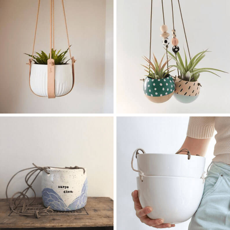13 Indoor Hanging Planters for Small Space Dwellers