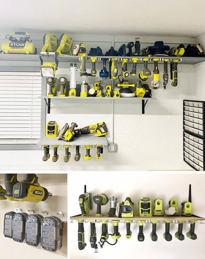 Ryobi Cordless Tool Storage