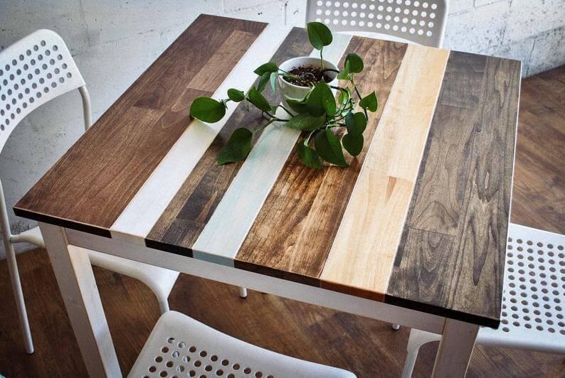Aspen Wood Breakfast Table