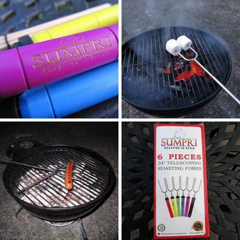 SUMPRI Roasting Forks and Caddy Review