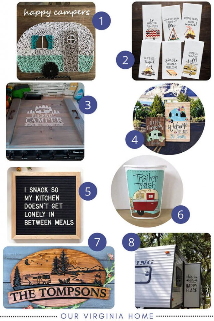 Camper Gift Ideas | RV Gift Ideas | Camper Decor